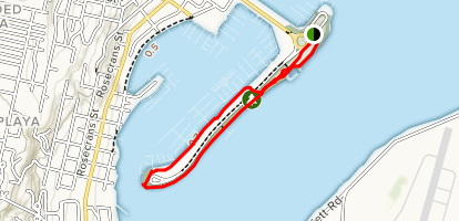 Shelter Island Loop Map