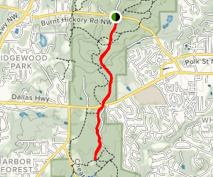 Cease Fire Trail Map