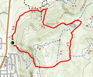 Tilting Mesa to Mesa Top Loop Map