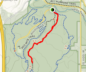 Sugar Bush Trail Map