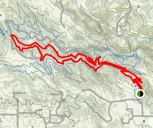 Creek Side Trail to Great Egret Trail Loop Map