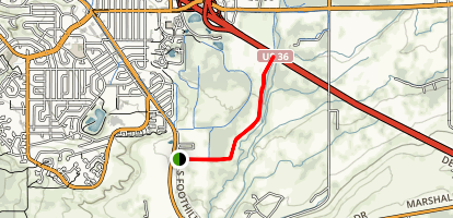 South Boulder Creek Map