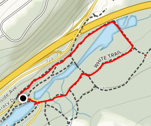 Watchung White Trail Loop Map