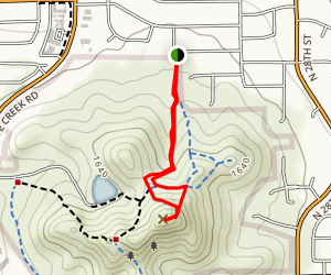 Shadow Mountain Peak Trail Map