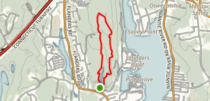 Oswegatchie Blue and Red Loop Trail Map