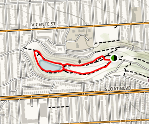 Pine Lake Loop Trail Map