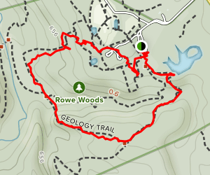 Geology and Wildflower Trail Map