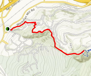 Nike Hill Map