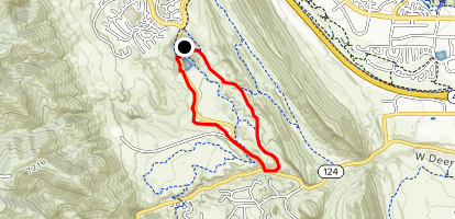 Coyote Song and Valley View Trail Map