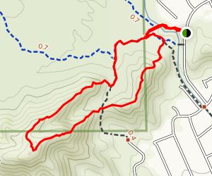 South Mountain Hill Loop Map
