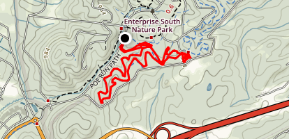 Black Forest Mountain Bike Trail Map
