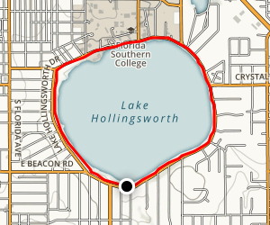 Lake Hollingsworth Loop Map