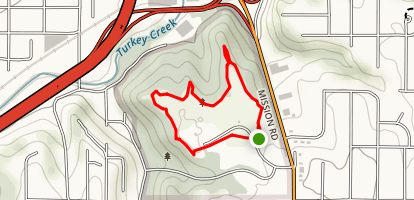 Rosedale Park Loop Map