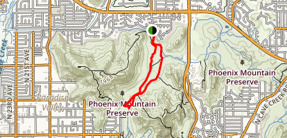 Charles M Christiansen Trail and Trail 306 Loop Map