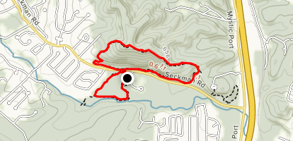 Limestone Hill and Spring Branch Loop Map