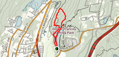 Mount Lamentation Loop Map