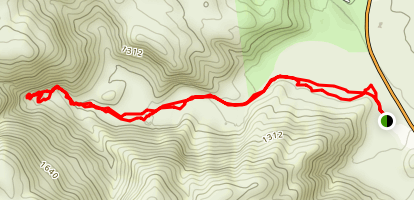Dead Indian Canyon Map
