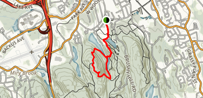 Terrywile Park Yellow Loop Map