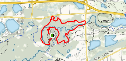 Yellow Trail Loop Map