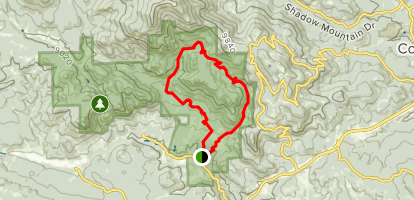 Mason Creek and Old Mill Loop Trail Map