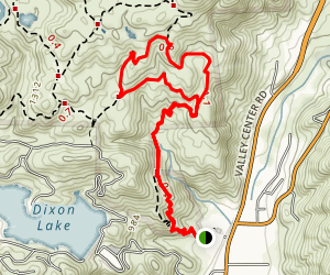 Sage Trail Short Loop Map