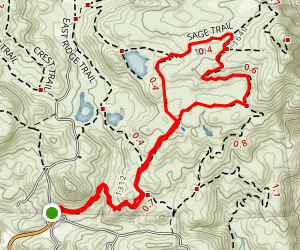 Coyote Run Trail Map