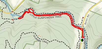 Little Gunpowder Trail Map