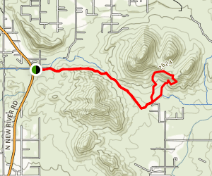 Spear S Ranch Loop Map
