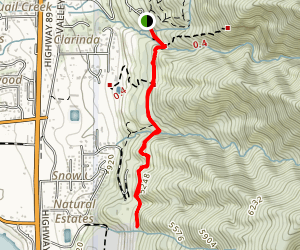 Fernwood Hike Map