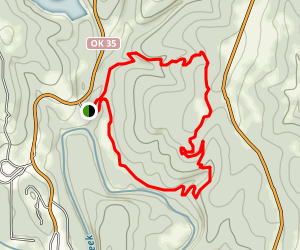 Osage Hills Red Trail Map