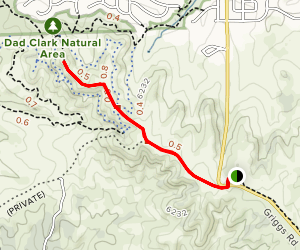 Highlands Point via East West Regional Trail Map