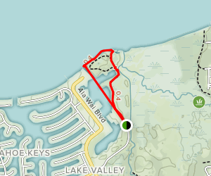 Tahoe Keyes Loop Map