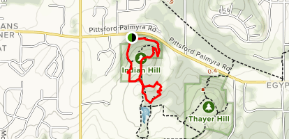 Indian Hill Trail Map