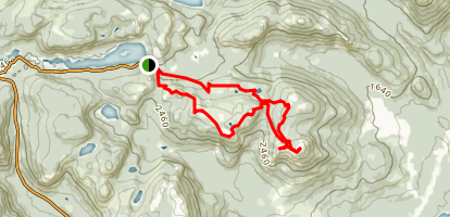Mount Dufour Map