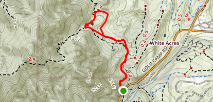 Intemann Trail Loop Map