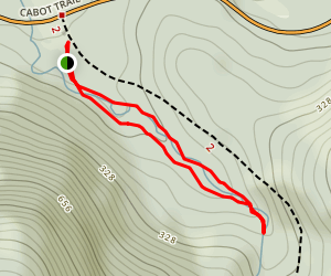 MacIntosh Brook Trail Map
