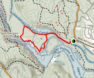 Billy Goat and Purplehorse Beach Loop Map