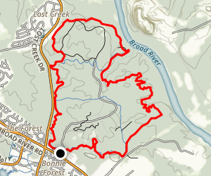 Firebreak and Stewardship Loop Trail Map