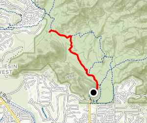 Lost Dog Trail Map