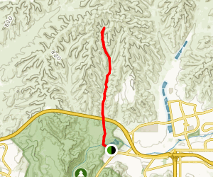 Spring Canyon Cycleway Map