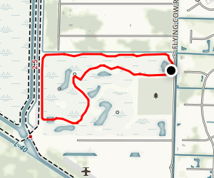 Wellington Environmental Preserve Loop Map