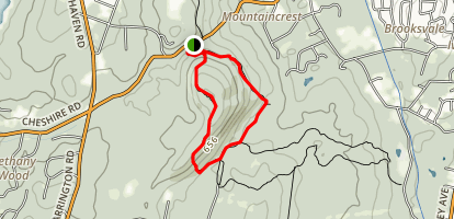 Quinnipiac Trail Loop Map