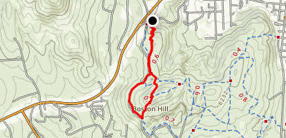 Boston Hill Trail Map