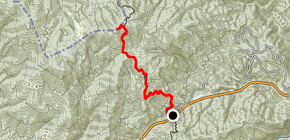 Rich Mountain Tower Map