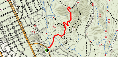 Mount Ainslie Map