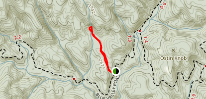 Picklesimer Rock House Falls Map