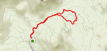 Canyon Pass Loop [PRIVATE PROPERTY] Map