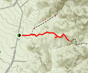 Achenbach Canyon Map