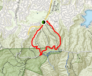 Caballero Canyon Outer Loop Map