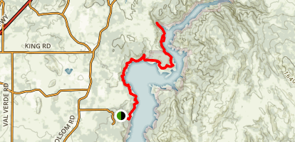 Pioneer Express Trail from Sterling Pointe Map